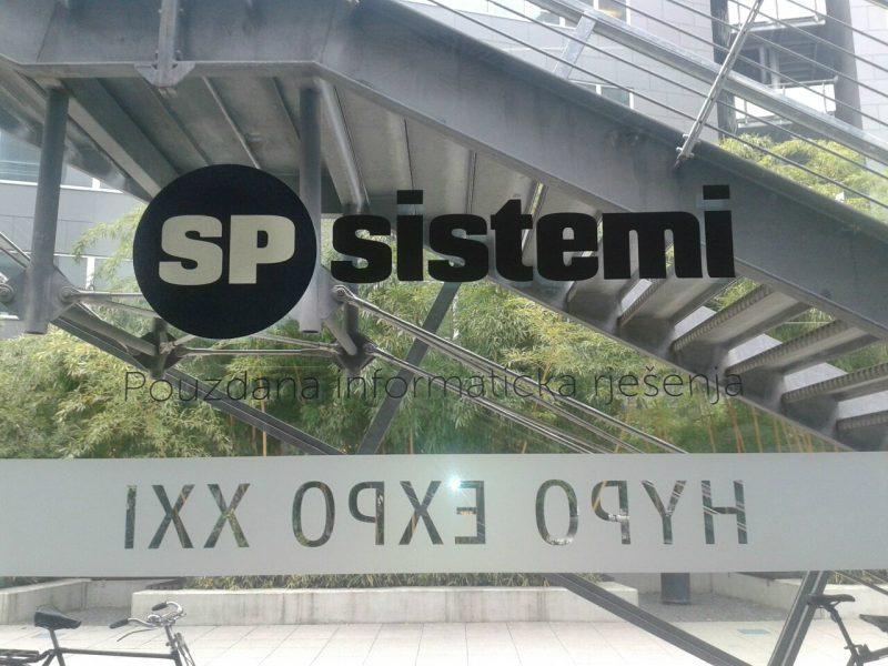 SP Sistemi naljepnica 1
